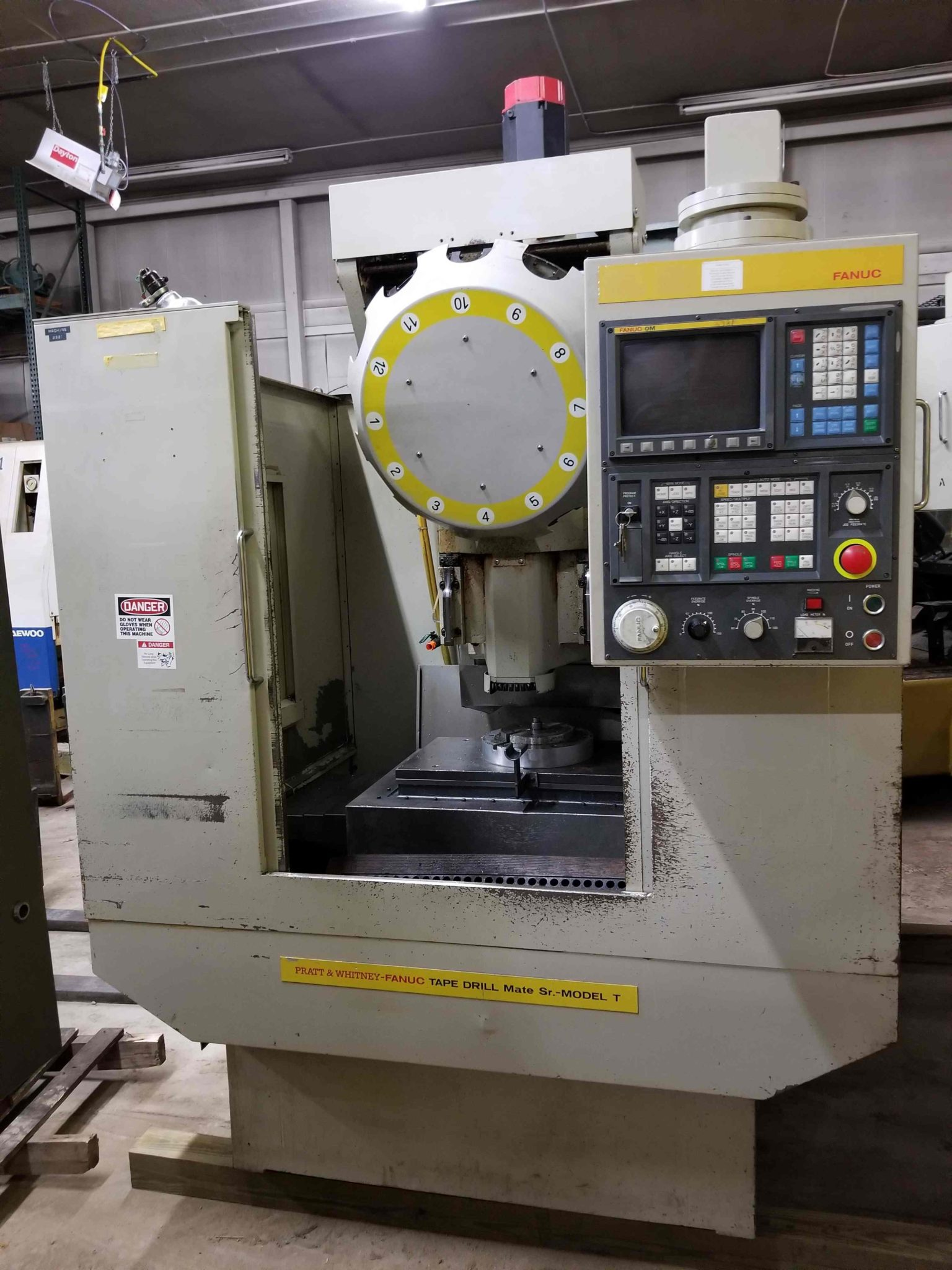 Fanuc Drill Tapping Milling CNC Machine For Sale | Call 616